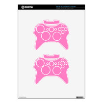Positively Pretty Pink! Color Xbox 360 Controller Decal