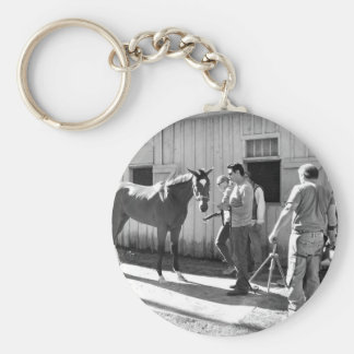 Positively Royal at Horse Haven Keychain