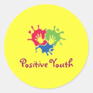 Positively Sticky Classic Round Sticker