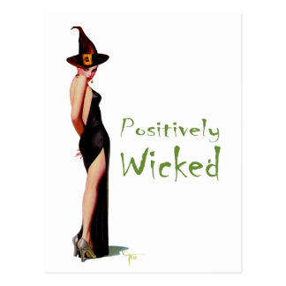 Positively Wicked Postcard