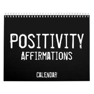 Positivity Affirmations Calendar