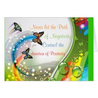 Positivity Stationery Note Card