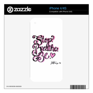 Positivity Design Decal For The iPhone 4