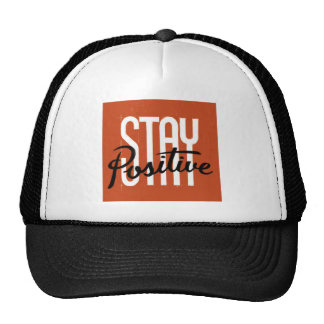 Positivo de la estancia gorras