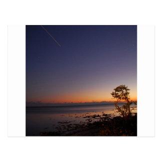 Posluminiscencia del tiroteo del cielo postales