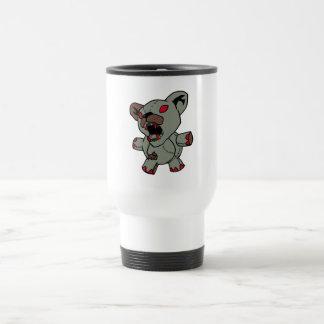 Possessed Teddy Bear 15 Oz Stainless Steel Travel Mug