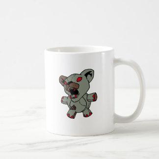 Possessed Teddy Bear Classic White Coffee Mug
