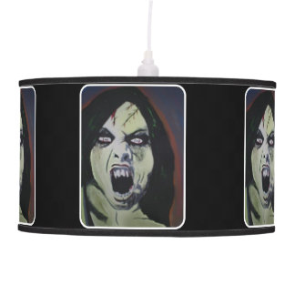 'Possession' on a hanging pendant lamp