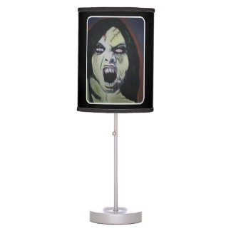 'Possession' on a table lamp