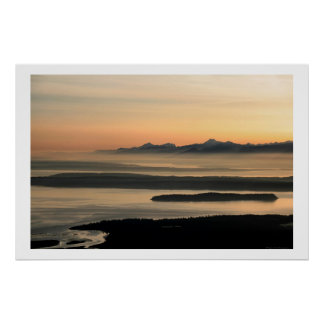Possession Sound Whidbey Island Print