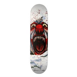 Possessive Clown Skate Deck by JR
