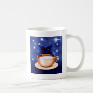 POSSESSIVE KITTEN: MINE! (a cat design) ~ Classic White Coffee Mug