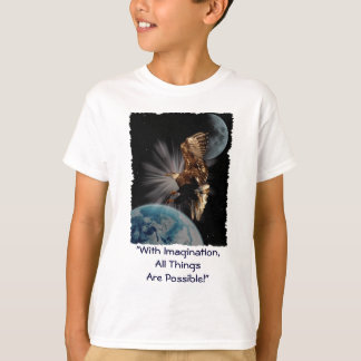 """""""POSSIBILITIES"""" Bald Eagle Motivational Gifts T-Shirt"""
