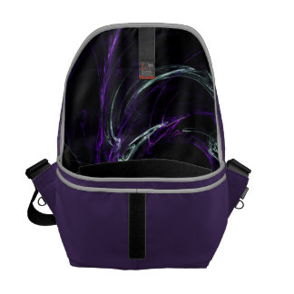 Possibilities - Cosmic Purple & Amethyst Courier Bag