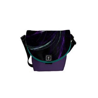 Possibilities - Cosmic Purple & Amethyst Mini Courier Bag