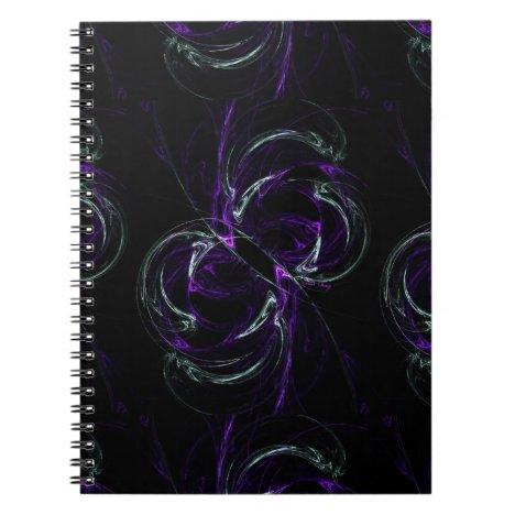 Possibilities - Cosmic Purple & Amethyst Notebook