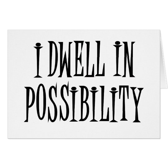 Possibility Card