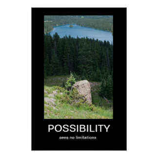 Possibility Demotivational Poster