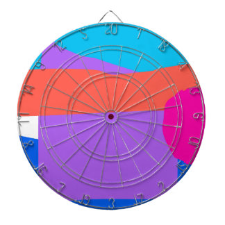 Possibility Intelligence Polished Rice Blue Muscle Dartboard With Darts