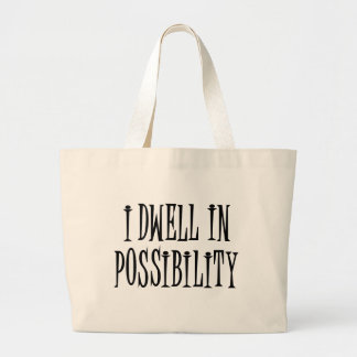 Possibility Large Tote Bag