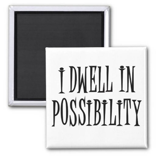 Possibility Refrigerator Magnets