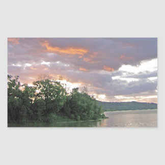 Possible Storm Today in Ohio River Valley Rectangular Sticker