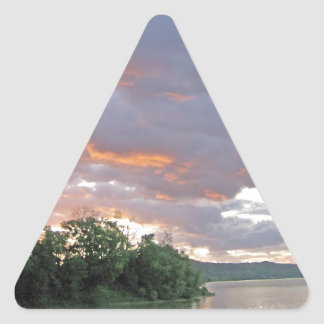 Possible Storm Today in Ohio River Valley Triangle Sticker