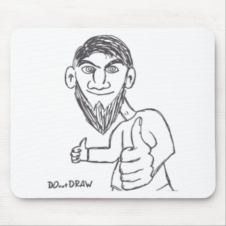 Possitive thinking every day! mouse pad