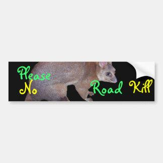 Possum Bumper Sticker