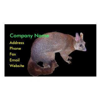 Possum Business Card
