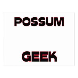 Possum Geek Postcard