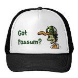 Possum, Got Possum? hats
