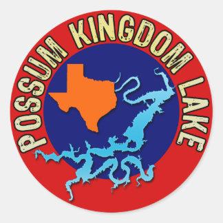 Possum Kingdom Lake, Texas Classic Round Sticker