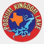 Possum Kingdom Lake, Texas Stickers