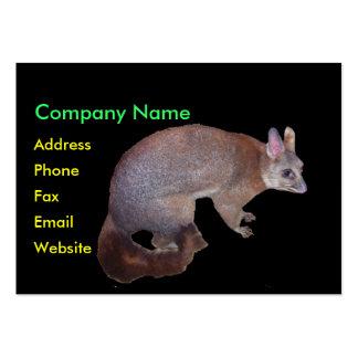 Possum Large Business Card
