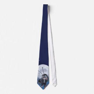 Possum Moon Neck Tie