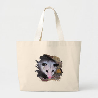 Possum Opossum Large Tote Bag