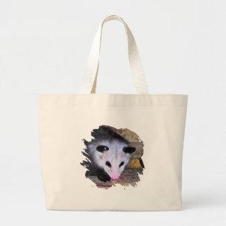Possum Opossum Large Tote Bag