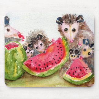 Possum Picnic Mousepad