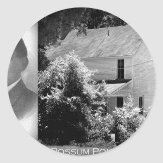Possum Poke home of Governor Chase S. Osborn Classic Round Sticker