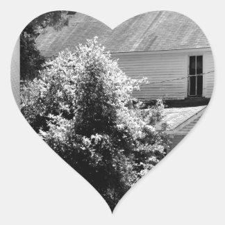 Possum Poke home of Governor Chase S. Osborn Heart Sticker