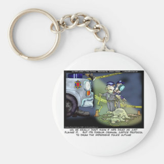 Possum Protocol Funny Gifts Tees & Collectibles Keychain