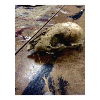 Possum skull letterhead