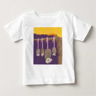 """Possums"" baby T-shirt"