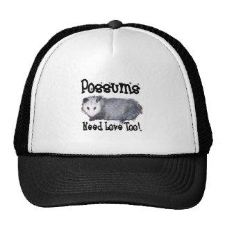 Possums Need Love Too Trucker Hat