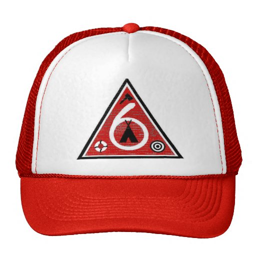 Post 6 Triangle Trucker Hat