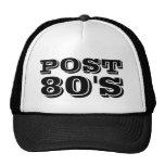Post-80's Cap Mesh Hats