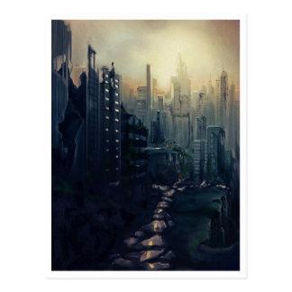 Post Apocalypse Postcard