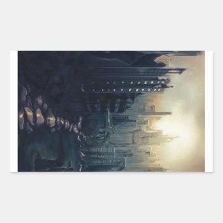 Post Apocalypse Rectangular Sticker