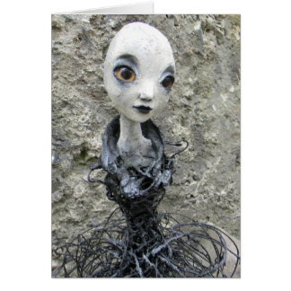 Post Apocalyptic Dolls Greeting Cards